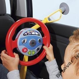 Autó kormány játék