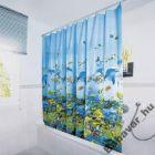 Korall-halas zuhanyfüggöny
