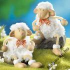 Lógó lábú kerámia bárányka
