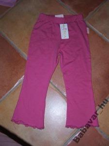 Pink pamut hosszú nadrág