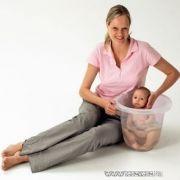 Tummy Tub fürdetődézsa/ pocakfürdő