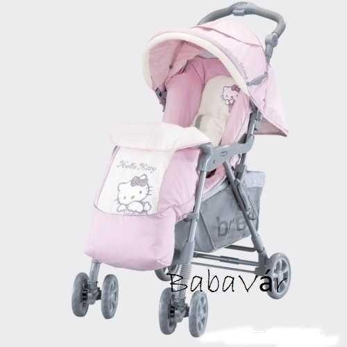 Brevi Hello Kitty Sportbabakocsi kopott kerekű  419bd53afb