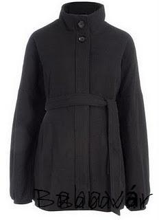 7430e7baa3 Fekete gyapjú kismama kabát | BabaMamaOutlet.hu