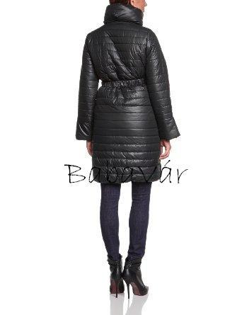 20ef420e45 Mama Licicous hosszú fekete kismama téli kabát | BabaMamaOutlet.hu