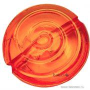 3db Acrybello narancs spiráll