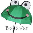 Békás gyerek esernyő