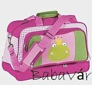 Békás rózsaszín sport táska  H.