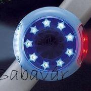 Babakocsi Ledes Világítás Kék