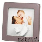 Baby Art Fényképes kézlenyomat készítő keret szürke H.