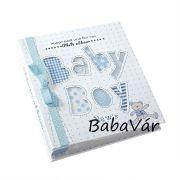 Baby boy világoskék fényképalbum