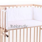 Babybay midi bölcsőhöz való levehető pamut huzatos matrac