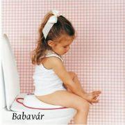 Babybjörn wc szűkítő fekete/ fehér