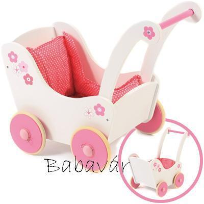 Bayer Chic Fa rózsaszín járássegítő babakocsi