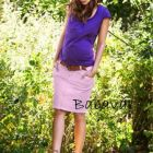 Bellybutton rózsaszín kismama szoknya