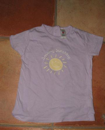 C&A kislány póló lila
