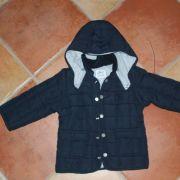 Chicco kék steppelt mellénnyé alakítható kabát
