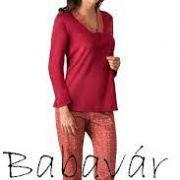 Cybele Bordó női pizsama