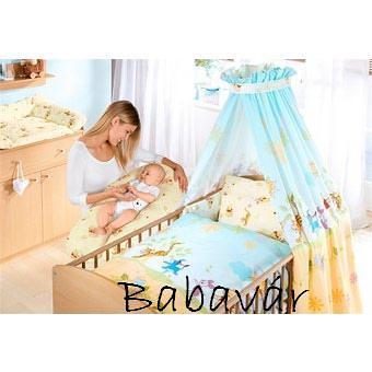 Disney baby négyrészes ágyneműgarnitúra kiságyba világoskék Micimackós 47b71d59df