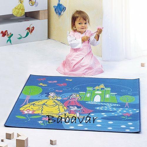 Disney princess kék szőnyeg - BabaVár Baba-KisMama outlet webáruház