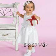 Elegáns kislányruha akár keresztelőre