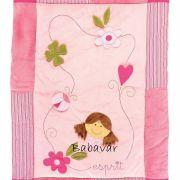 Esprit játszószőnyeg/ járókabetét rózsaszín