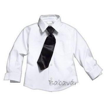 Boys Fekete nyakkendő kisfiúknak
