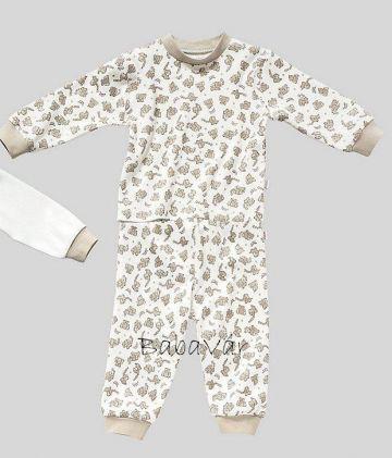 Fixoni natur elefántos pizsama