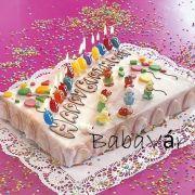 Happy Birthday szülinapi gyertya