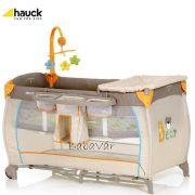 Hauck Utazóágy Alu Travel Drapp macis