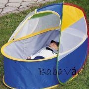 Hordozható szúnyoghálós utazóágy/ fekvőhely