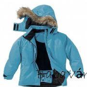 Steiff mindkét oldalán hordható toll kisfiú kabát kékdrapp
