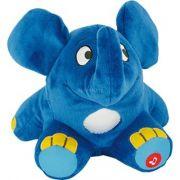 Kék zenélős éjjeli fényes plüss elefánt