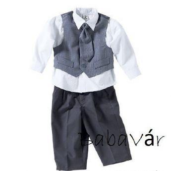 Kisfiú öltöny keresztelőre 4 részes