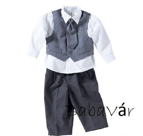 1a6b4cfbcf Kisfiú öltöny keresztelőre 3 részes | BabaMamaOutlet.hu