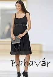 bd60db487a Mama Licious fekete elegáns kismama ruha   BabaMamaOutlet.hu