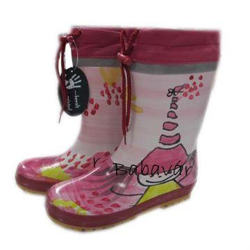 Maximo rózsaszín kislányos bélelt gumicsizma