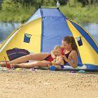 Napvédő sátor strandra