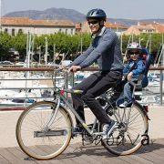 OK Baby Sirius biztonsági gyerek bicikliülés