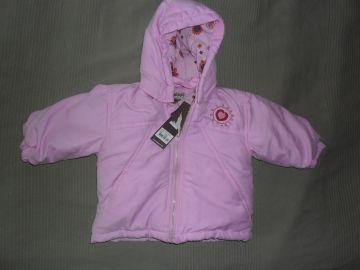 Pippi rózsaszín hímzett baba dzseki