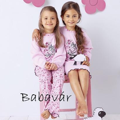 Rózsaszín Lovas kislány pizsama  9e13614e98
