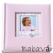 Rózsaszín baba fényképalbum H.