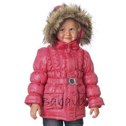 1c4ec45c8c Rózsaszín steppelt kislány kabát | BabaMamaOutlet.hu