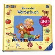 Ravensburger kemény lapos német képeskönyv