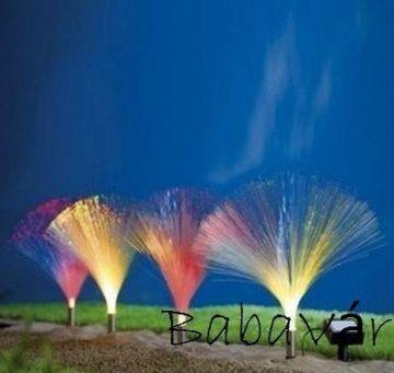 Solár Ledes színváltós kerti dekor lámpa sor