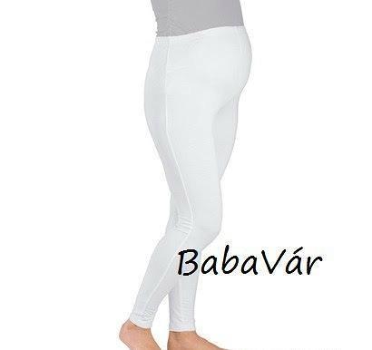 7b1476c4e7 ... Kismama Hosszú Nadrágok / Star Collection fehér legging. 🔍. Star  Collection fehér legging