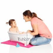 Stokke Összecsukható Babakád fehér Flexi-Bath