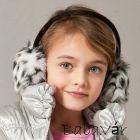 Szörmés fülvédő gyerekeknek