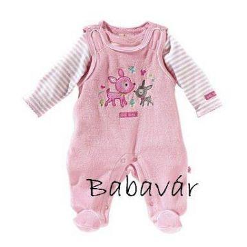 Bornino rózsaszín őzikés rugi szett