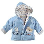 Tabeo Kék Nyuszis kifordítható Kabátka Macival