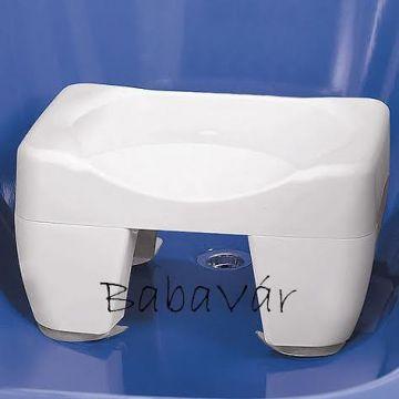 Wenko Tappancsos fürdőszobai műanyag Secura fürdőkád hokedli